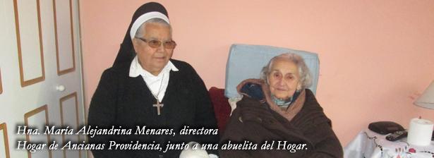"""Hogar de Ancianas Providencia: """"Las ayudas nunca están de más"""""""