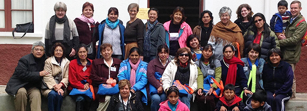 Miembro de nuestro Centro de Espiritualidad participa de Encuentro de Teólogas Bolivianas