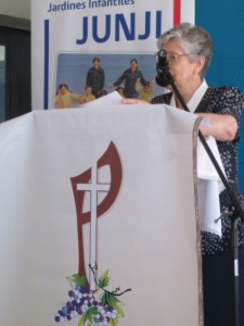 Saludo de nuestra Superiora Provincial en inauguración de Sala Cuna de Jardín Infantil Bernarda Morin