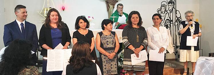Comunidad AP de Santa Clara renueva compromisos y recibe a seis nuevos Asociados/as