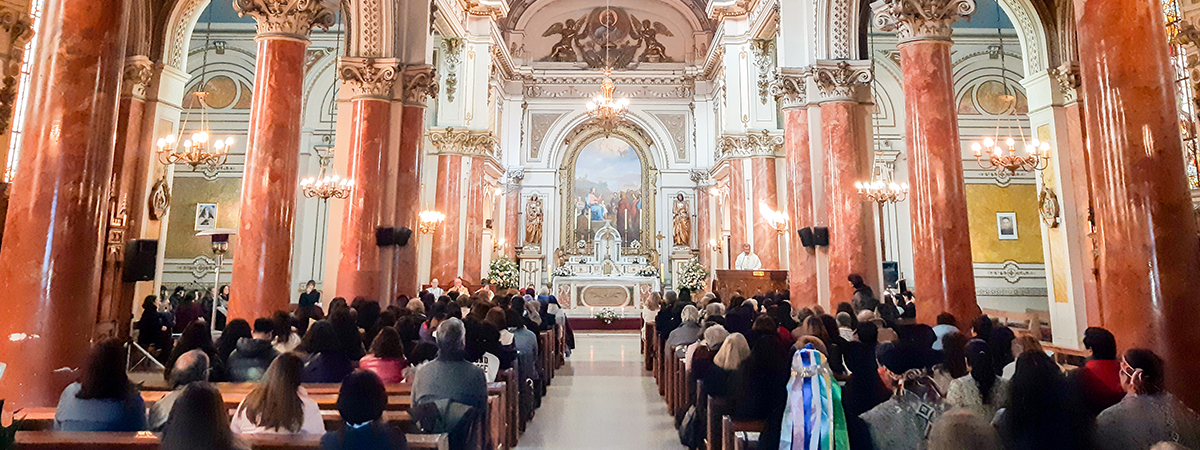 Provincia celebró los 166 años de la llegada de la Congregación a Chile