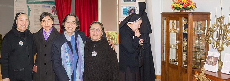 Entrevista a Hna. Yolanda Guajardo H.S.J., en la Muestra «Madre Bernarda en la memoria y el corazón»