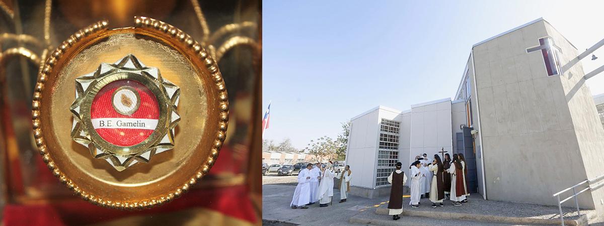 Regalamos reliquia de Madre Emilia a renovada Capilla Nuestra Sra. del Carmen del Perejil